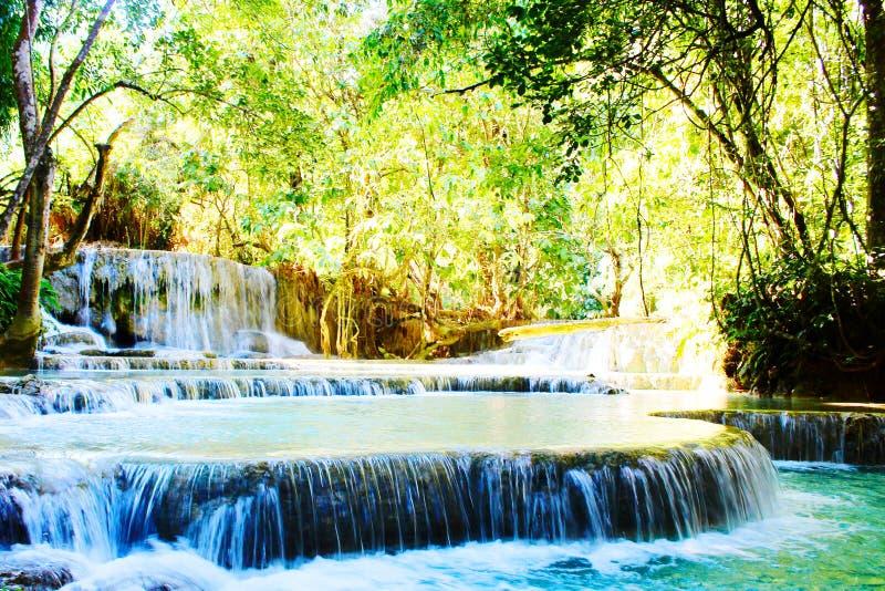Laos siklawa obrazy stock