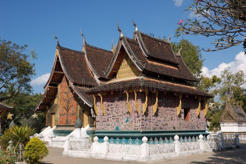 Laos-vecchia città Luang Phabang fotografie stock libere da diritti