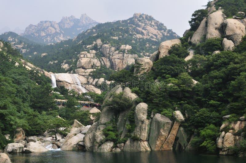 Laoshan berg arkivfoto