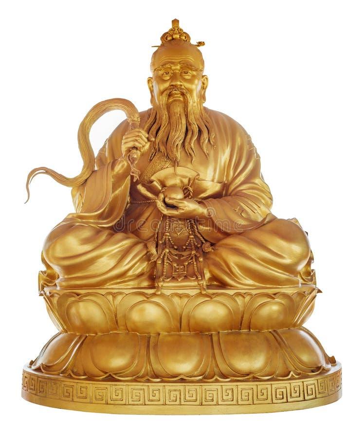 Laozi (Lao Tzu) - stichter van Taoïsme royalty-vrije stock fotografie
