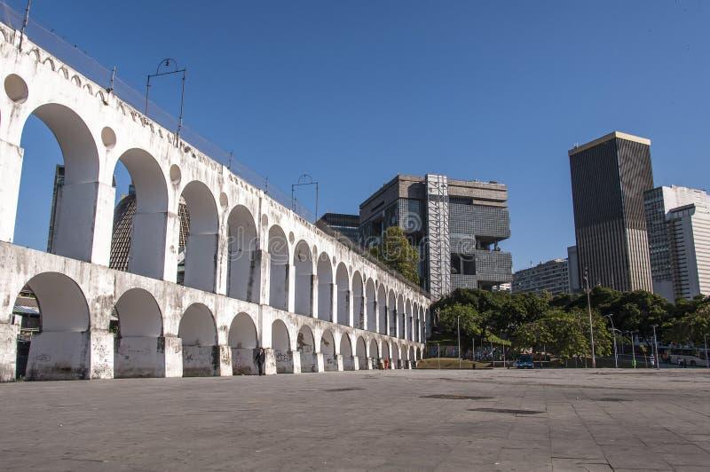 Lapa Arch, Rio de Janeiro, Brazil. Lapa Arch, Downtown Rio de Janeiro, Brazil stock photography