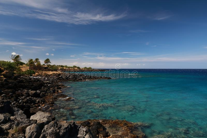 Lapakahi State Historical Park, Big Island, Hawaii,USA. Lapakahi State Historical Park, Big Island, Hawaii, beautiful, blue, coast, drive, foreign, gusty stock photos