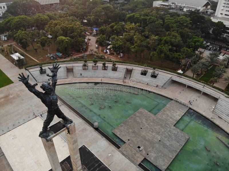 Lapangan Banteng, Jakarta - Indonésie photos stock