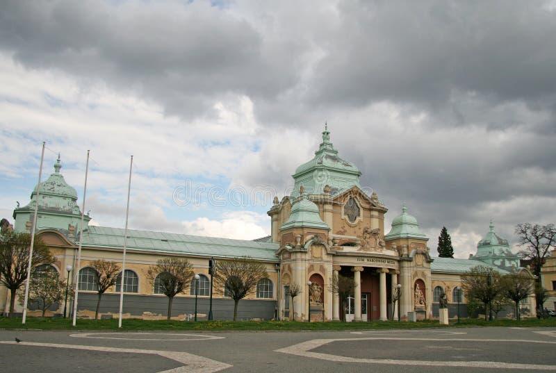 Lapidarium Национального музея в ПРАГЕ, ЧЕХИИ стоковая фотография