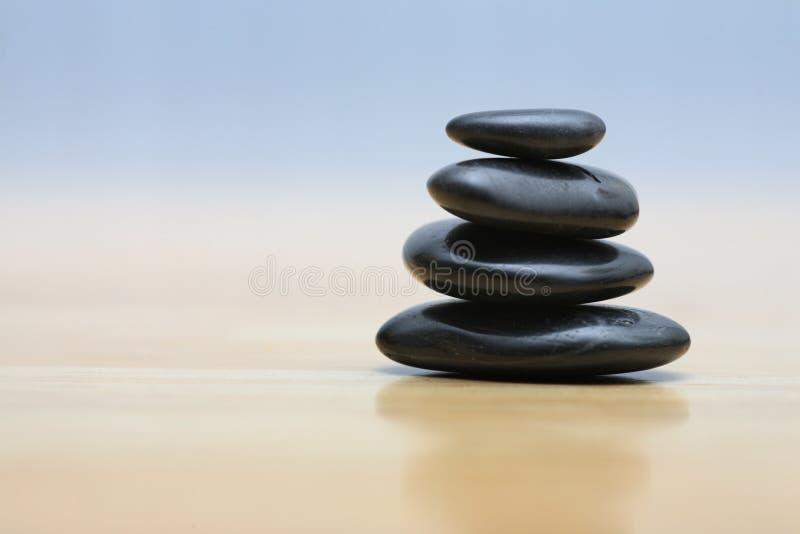 lapide le zen photographie stock