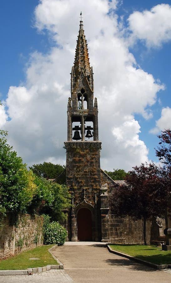 Lapidez l'église dans Brittany images stock