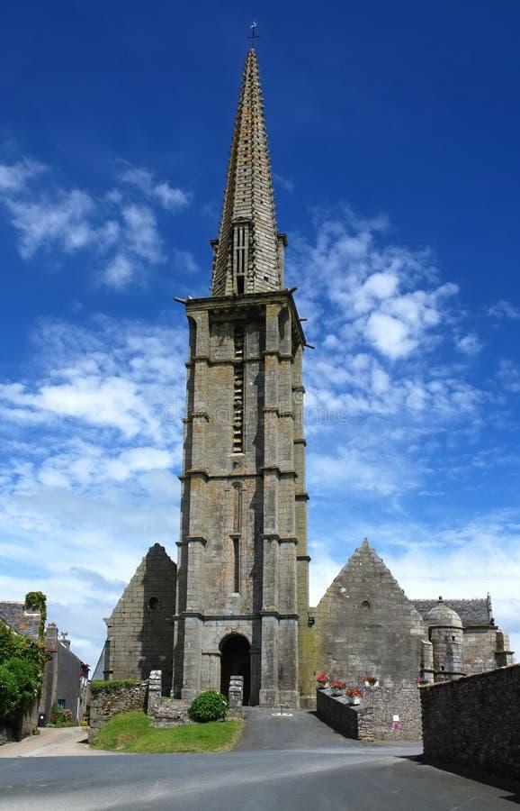 Lapidez l'église dans Brittany photos stock
