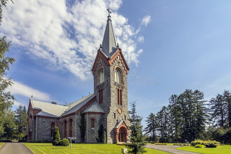 Lapidi la chiesa fotografie stock