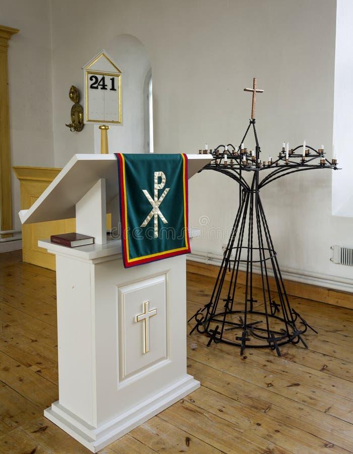 Lapidi la chiesa fotografia stock libera da diritti