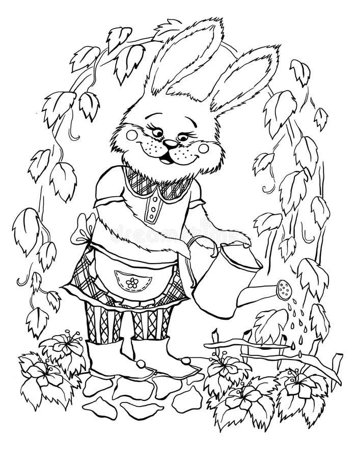 Lapin illustration de vecteur