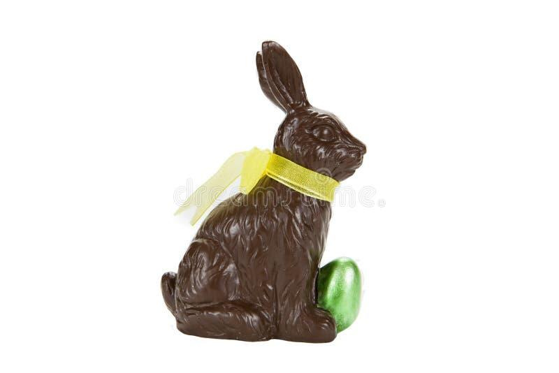 Lapin de chocolat images stock