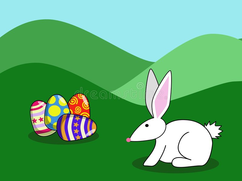 Lapin de Pâques 1 illustration libre de droits