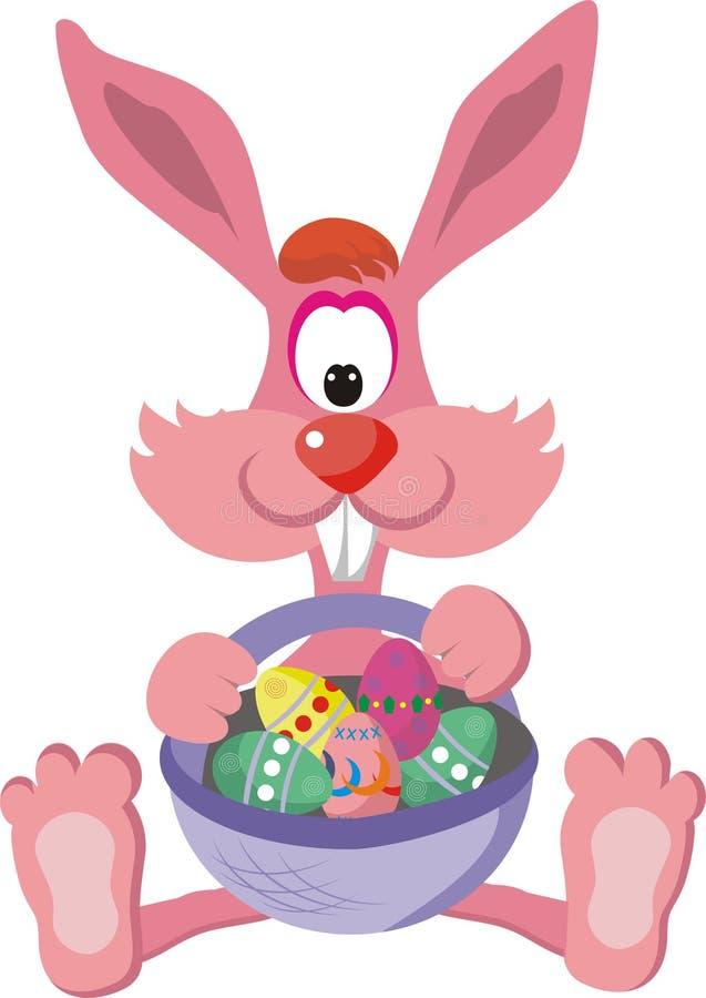 Lapin de Pâques illustration de vecteur