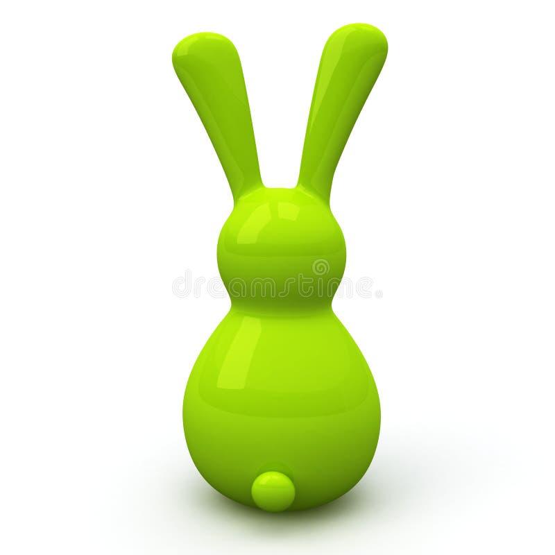 Lapin de Pâques, 3d illustration libre de droits