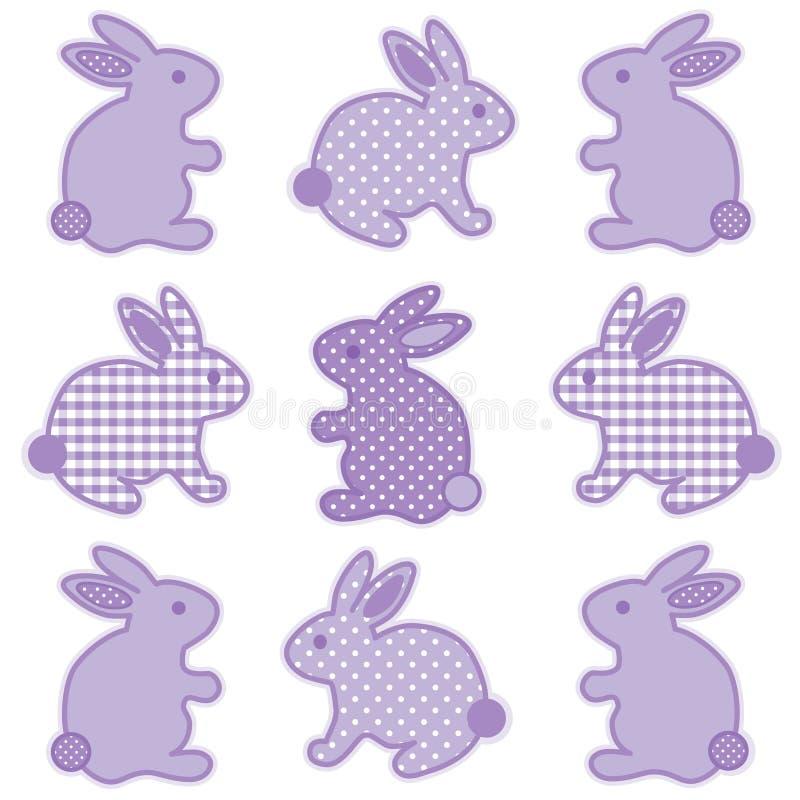 Lapins de lapin illustration libre de droits