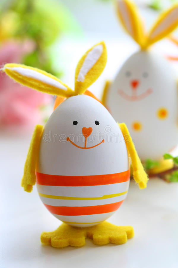 Lapins de Pâques images libres de droits
