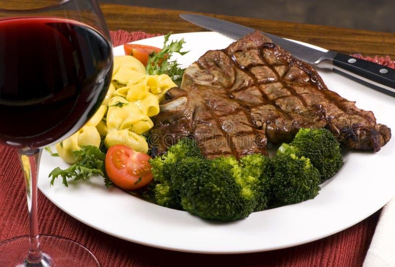 Lapje vlees 001 van Porterhouse stock afbeeldingen