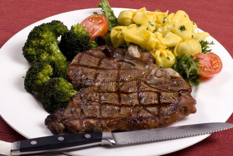 Lapje vlees 005 van Porterhouse royalty-vrije stock foto's