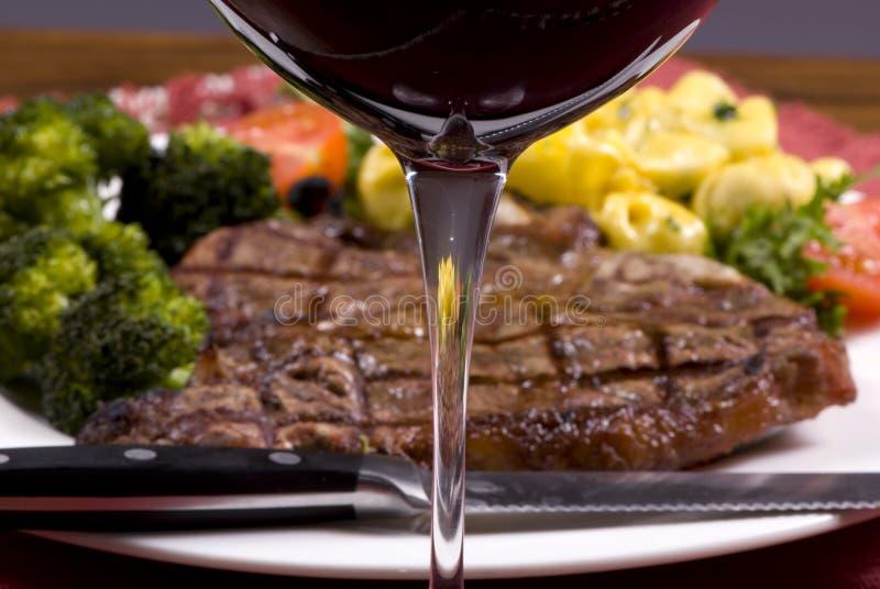Lapje vlees 007 van Porterhouse royalty-vrije stock foto