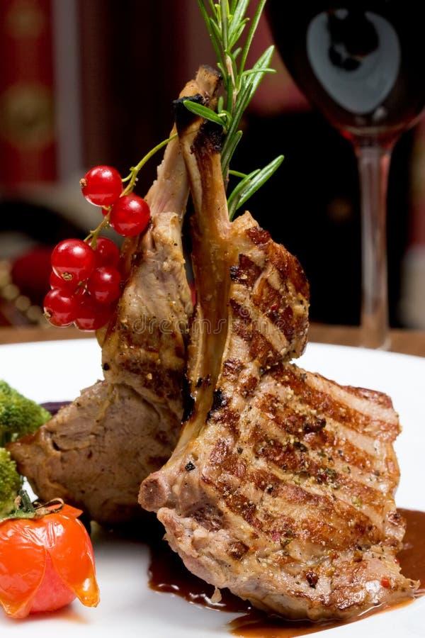 Lapje vlees stock afbeeldingen