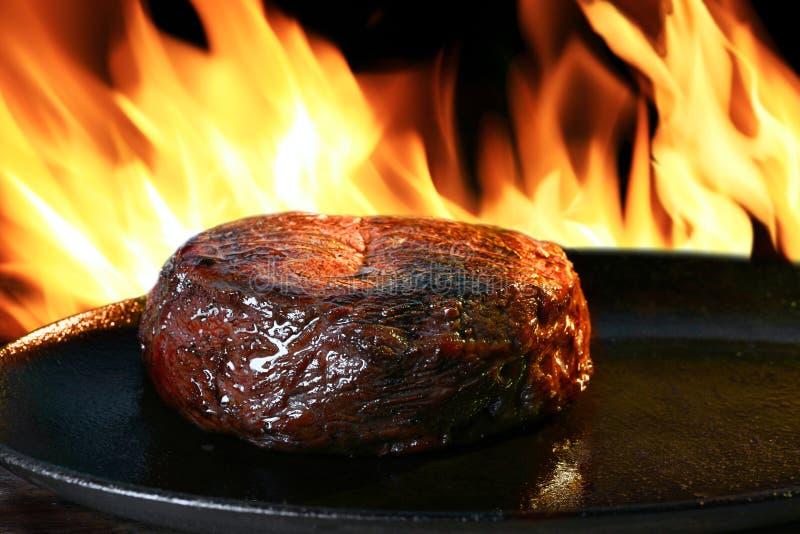 Lapje vlees royalty-vrije stock afbeeldingen