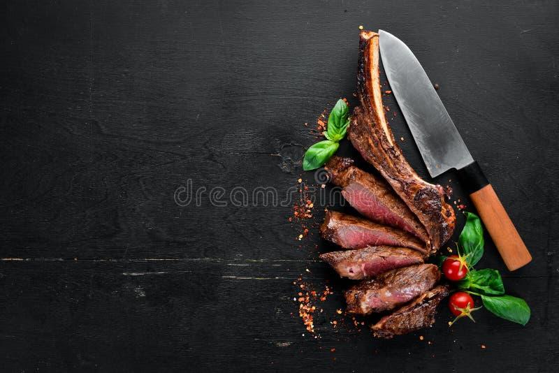 Lapje vlees op het been royalty-vrije stock foto's