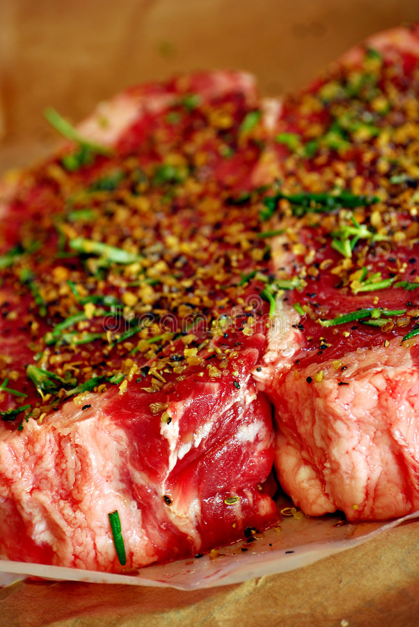 Lapjes vlees royalty-vrije stock foto's