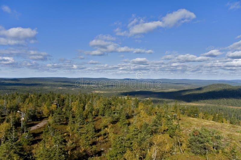 Lapland imagem de stock