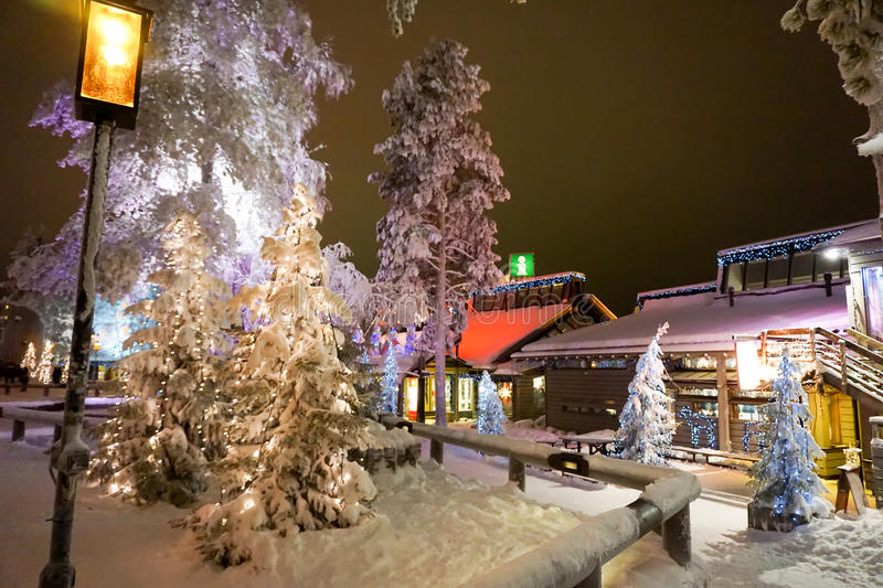 Lapland. Christmas holidays in Lapland, Finland stock photos
