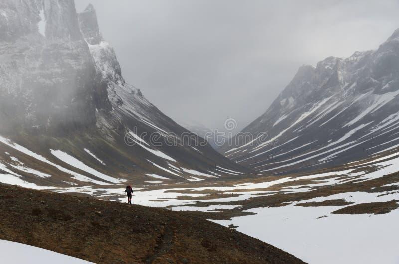 Lapland vandring royaltyfri bild