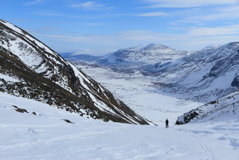 Lapland widok obrazy royalty free
