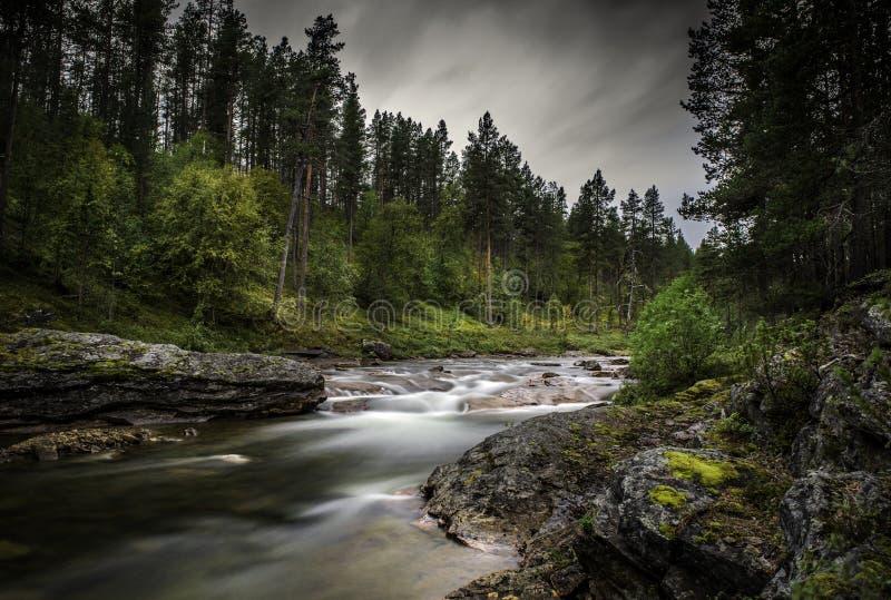 Laponia, Finlandia septentrional imagenes de archivo