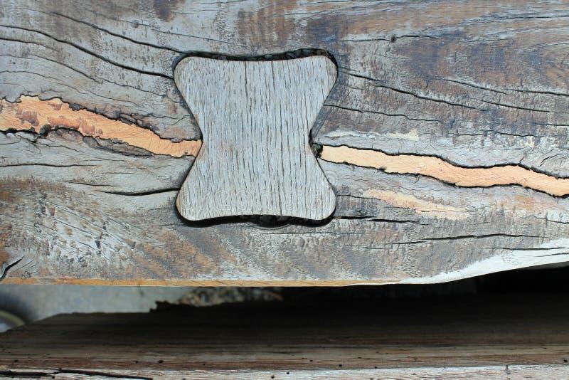 Lapp för mosaik för trätexturmöblemang arkivbild