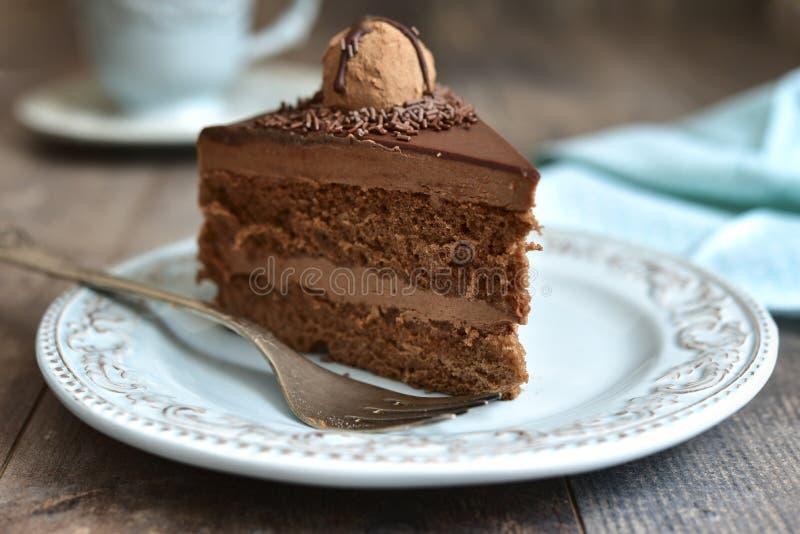 Lappa av tårtan arkivbilder