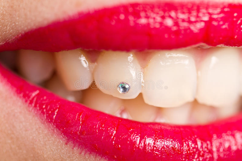 Lappa tänderna royaltyfri foto