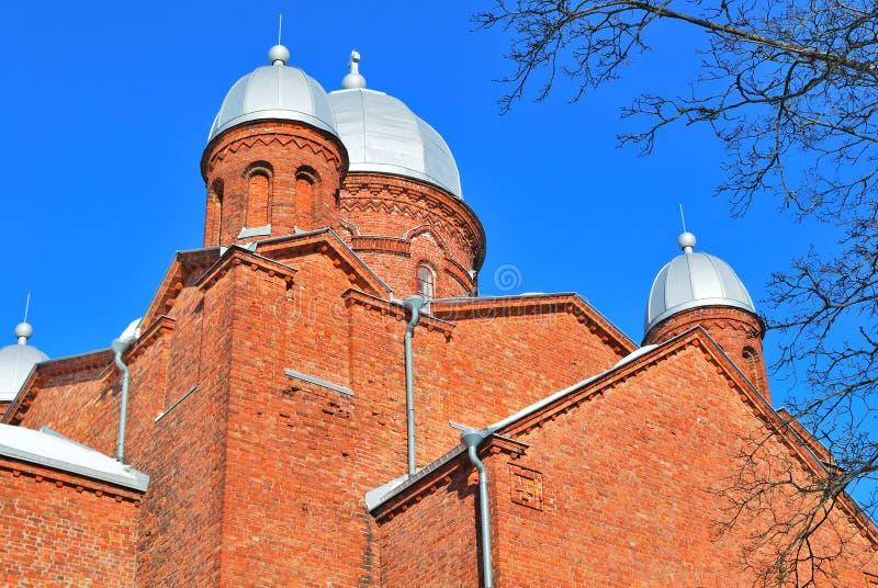 lappeenranta Финляндии собора стоковое фото rf