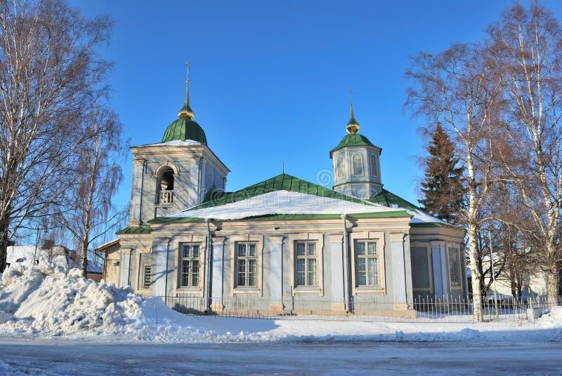 Lappeenranta, Финляндия. Православная церков церковь стоковые изображения rf