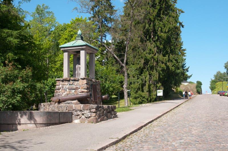 Lappeenranta, Finland Monumento del registro fotos de archivo