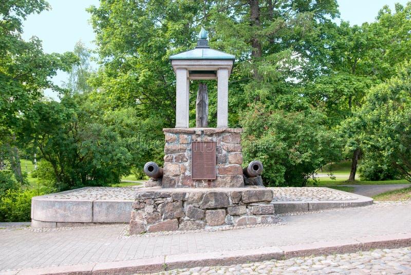 Lappeenranta, Finland Monumento del registro imagen de archivo