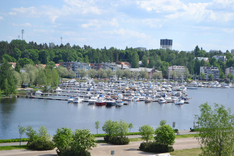 Lappeenranta, Finlandia obraz royalty free