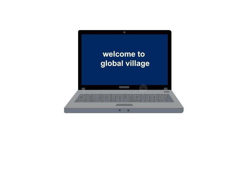 Download Laptop stock illustratie. Illustratie bestaande uit registreertoestel - 10780061