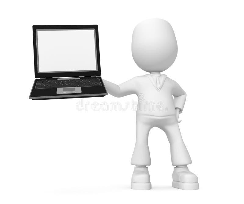 laptop ilustracji
