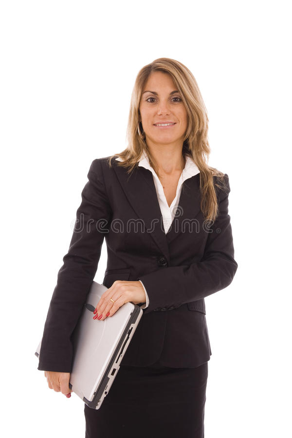Download Laptop stock image. Image of executive, caucasian, fresh - 11805169