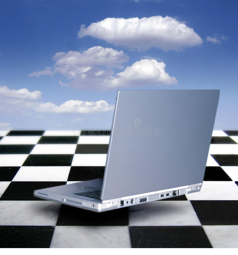 Download Laptop stock photo. Image of internet, aided, cloud, technology - 12339286