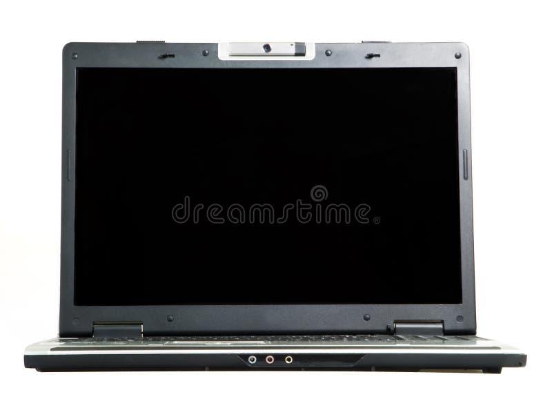 Laptop. On a white background stock photos
