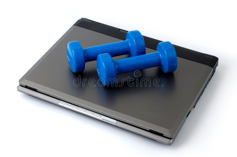 Laptop 2 stock photography