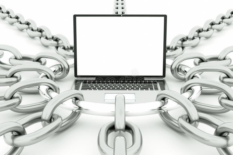 Download Laptop stock illustration. Illustration of conceptual - 22452243