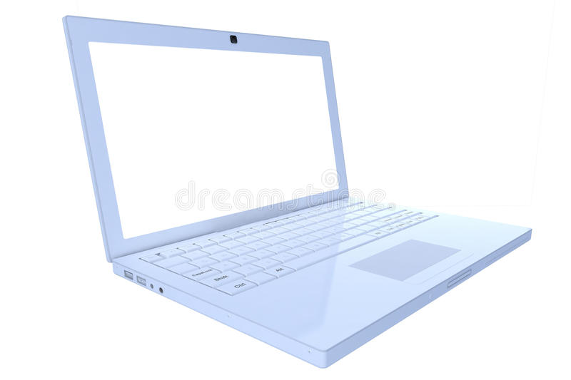 Download Laptop stock illustration. Image of silver, nobody, photography - 25055265