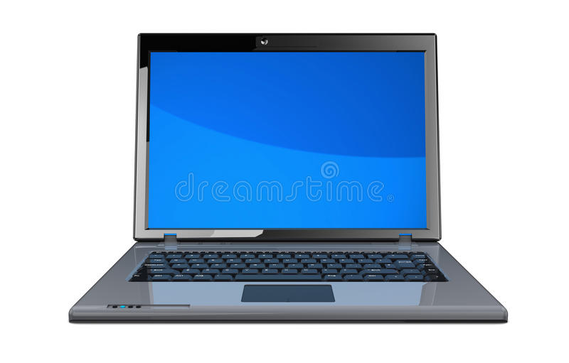 Download Laptop stock illustration. Image of graphic, clipping - 25584826