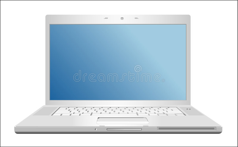 laptop ilustracja wektor